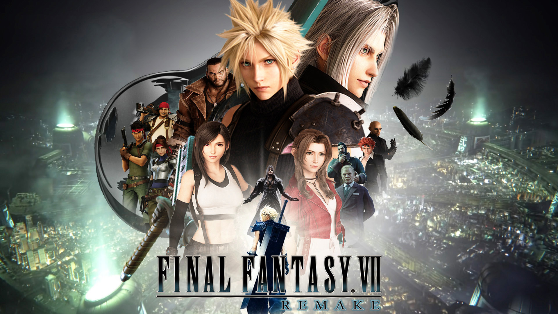 Final Fantasy VII Remake Wallpaper by The-Dark-Mamba-995 ...