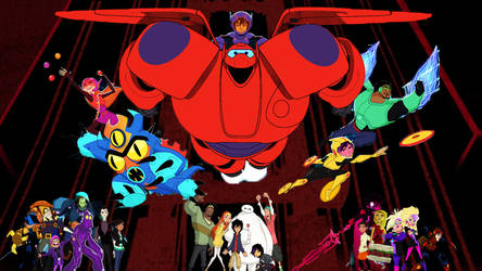 Big Hero 6 the Series Wallpaper