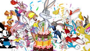 Bugs Bunny 80th Birthday Wallpaper