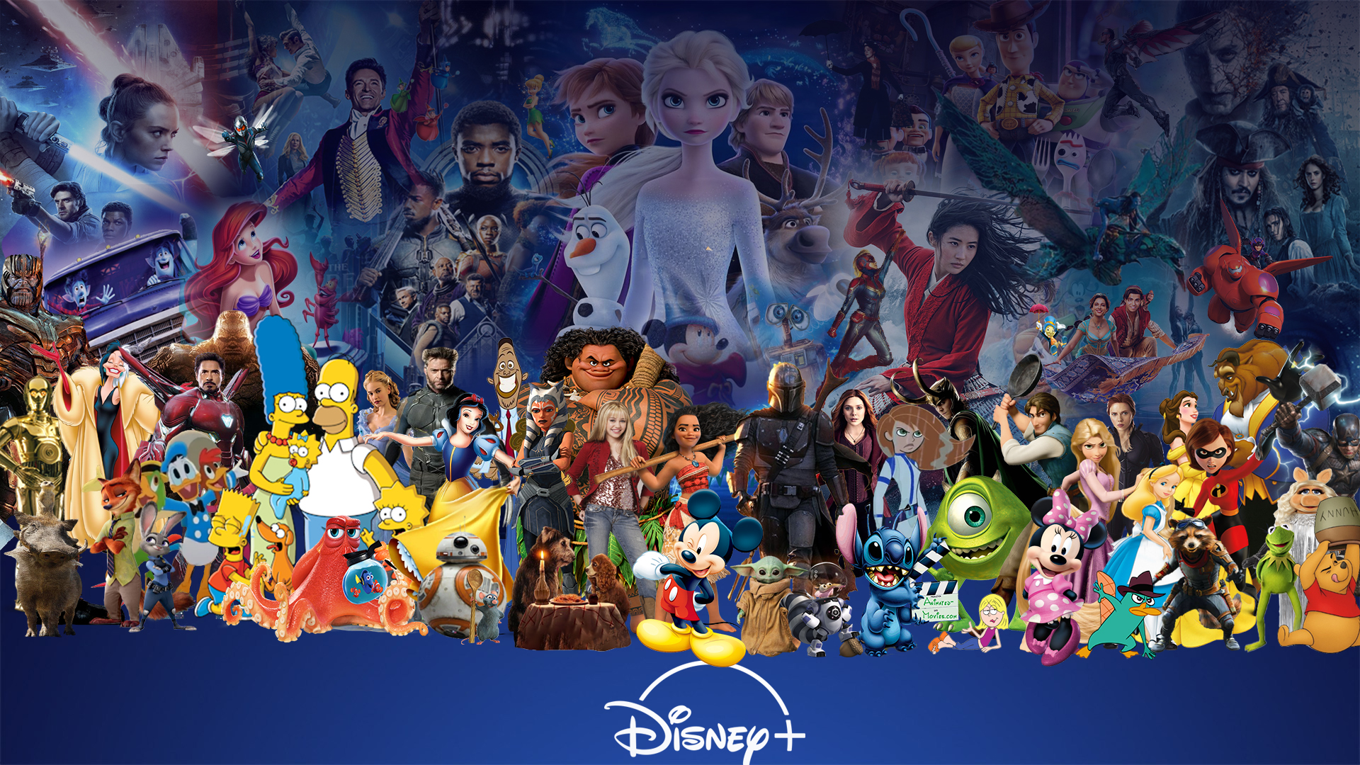 Disney Plus Wallpaper Version 2 By Thekingblader995 On Deviantart