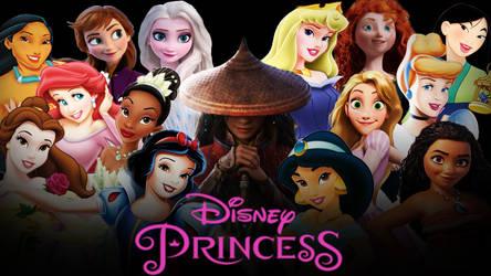 Raya | Disney Princesses Wallpaper