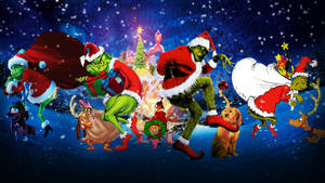 Into the Grinchverse: Christmas Wallpaper