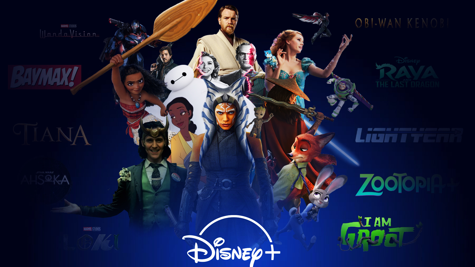 Disney Plus Announcements Wallpaper By Thekingblader995 On Deviantart