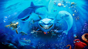Finding Nemo and Dory Wallpaper