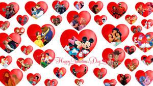 Disney Couples: Valentine's Day Wallpaper