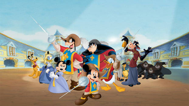 Mickey Donald Goofy : The Three Musketeers
