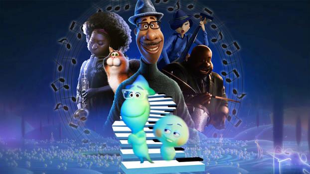 Pixar's Soul Wallpaper
