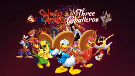 Saludos Amigos and The Three Caballeros Wallpaper
