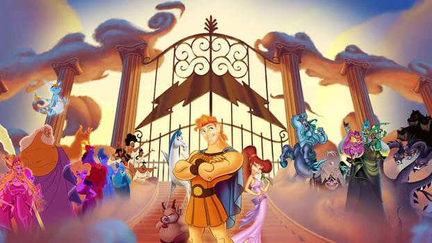 Disney's Hercules Wallpaper
