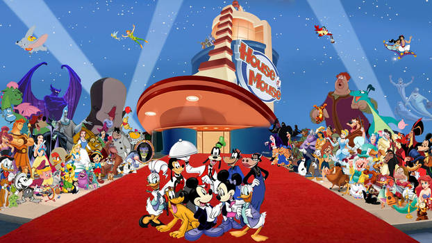 House of Mouse Wallpaper | 20th Anniversary