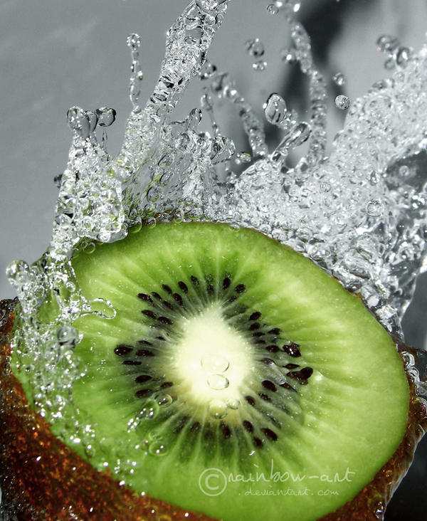 kiwi juice by rainbow-art