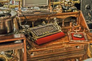 Steampunk Keyboard by 42pixel