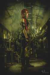 2nd Steampunk.Shooting.Zeche.Hannover.2016.001