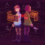 [Undertale] Frisk and Chara by AsraUnown
