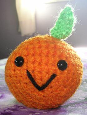 Amigurumi Orange by FuzzyViper on deviantART
