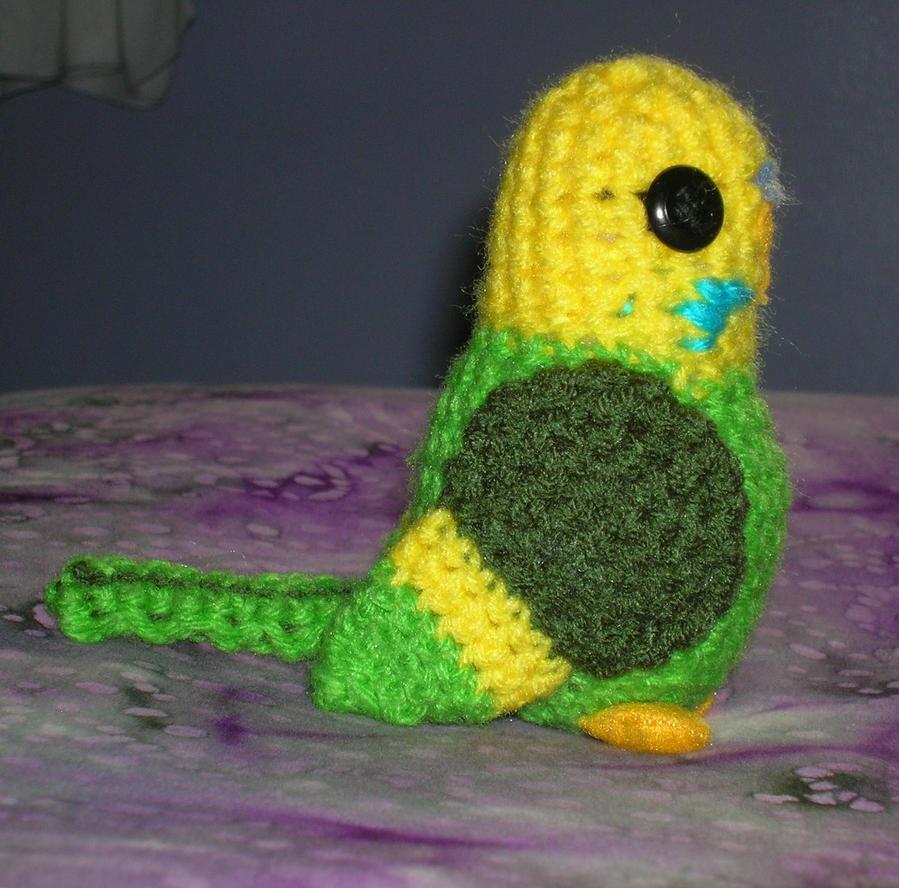 Amigurumi Owl Beak : Amigurumi Parakeet by FuzzyViper on DeviantArt