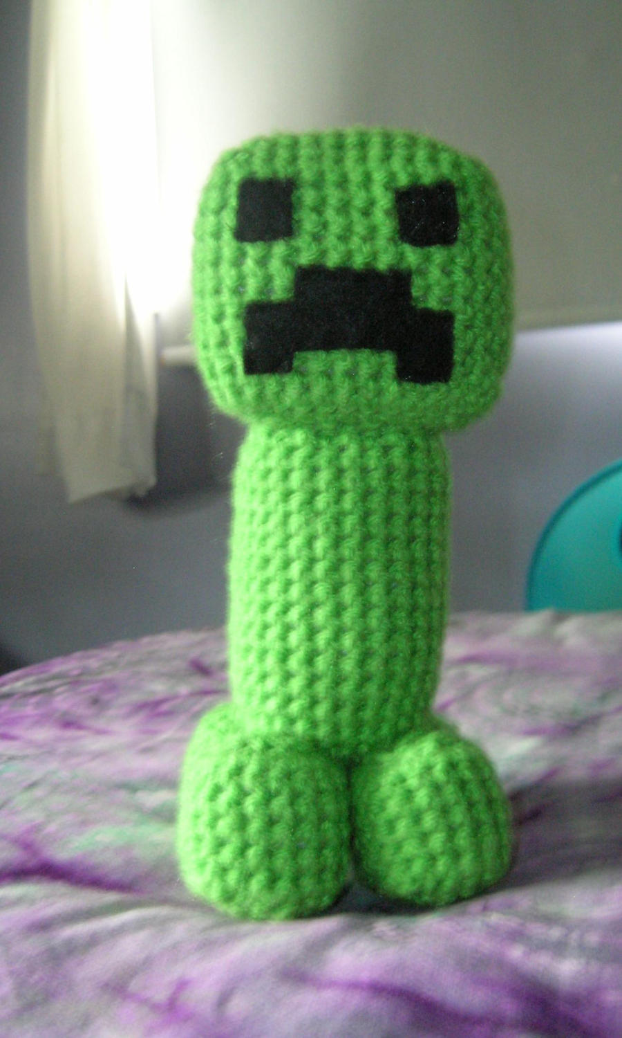 Orca Amigurumi Free Pattern : Amigurumi Minecraft Creeper 2 by FuzzyViper on DeviantArt