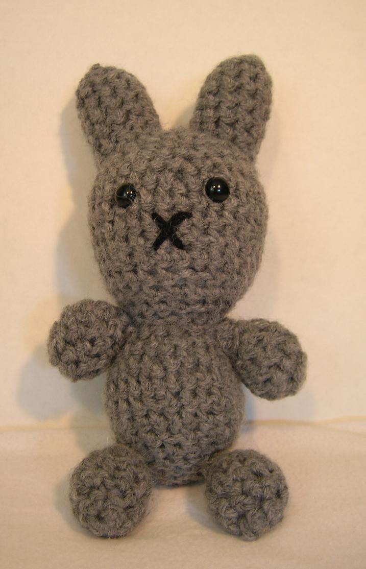 Tiny Amigurumi Rabbit : Small Amigurumi Grey Bunny by FuzzyViper on DeviantArt