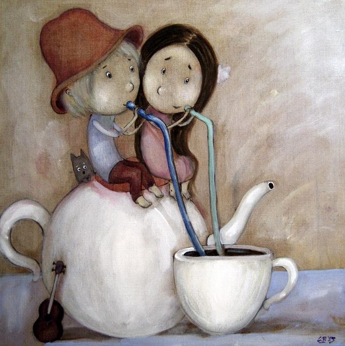 Coffee Straws by Grzegorz Ptak by GrzegorzPtakArt