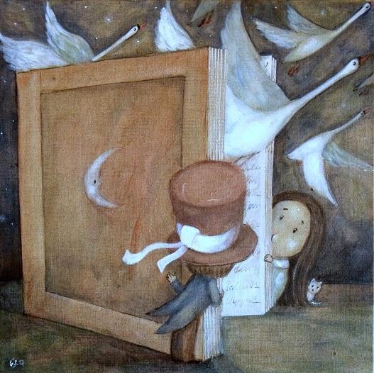 Wild Swans  by Grzegorz Ptak by GrzegorzPtakArt