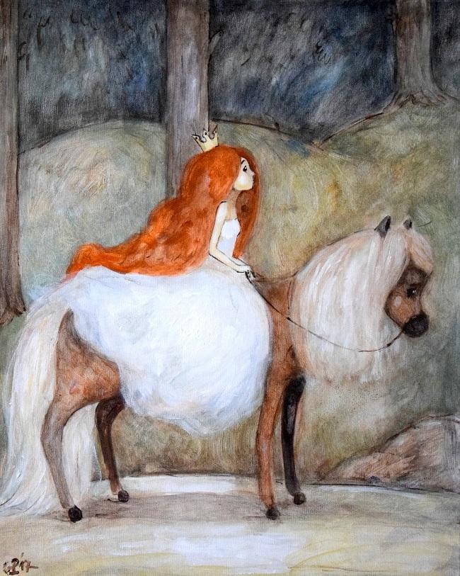 Lilla Prinsessan Tuvstarr by GrzegorzPtakArt