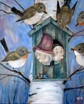 Nest by Grzegorz Ptak