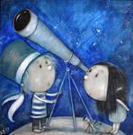 Telescope by  Grzegorz Ptak