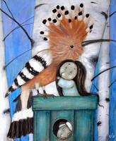 Hoopee and Forest Spirits by Grzegorz Ptak by GrzegorzPtakArt