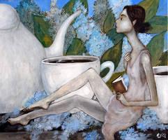 Porcelaine by Grzegorz Ptak by GrzegorzPtakArt