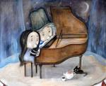 Piano by Grzegorz Ptak