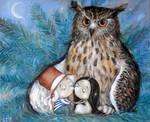Cuddle by Grzegorz Ptak