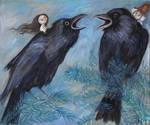 Ravens by Grzegorz Ptak