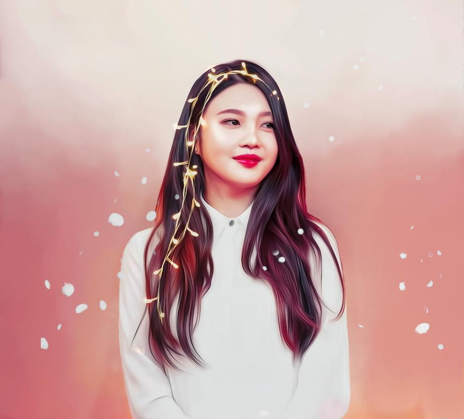Joy - Red velvet / Lights series by bubble-min