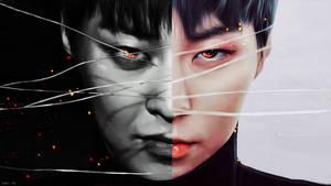 Xiumin /  Devil or Angel? by bubble-min