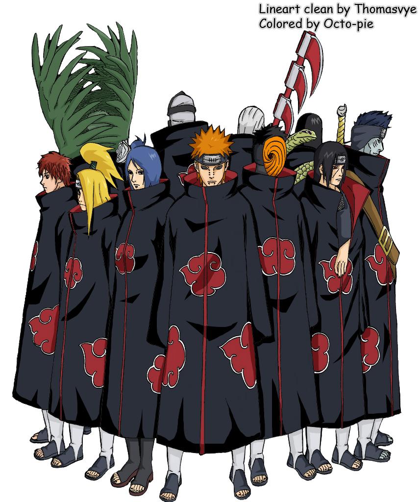 Naruto vol 41 cover - Akatsuki