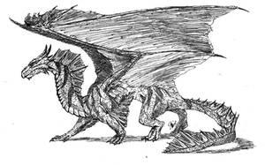 Bronze Dragon by Szirek