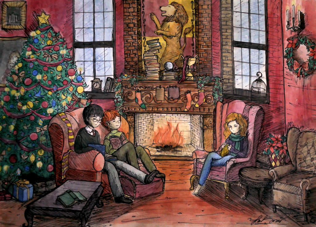 Gryffindor Common Room By Thanhmajtran On Deviantart