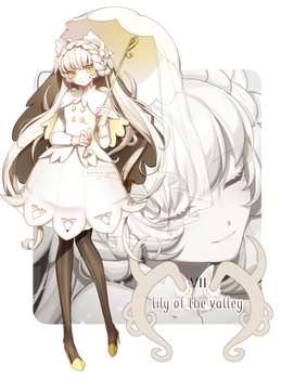 [CLOSED] Ramleur Adopt 07 - Lily of the Valley