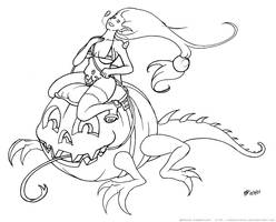 Halloween... WIP by oginmysoul