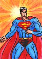 DSC Superman ATC by oginmysoul