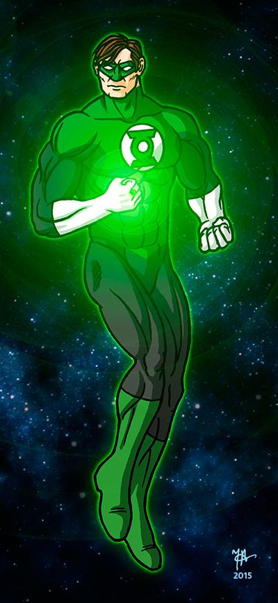 Green Lantern by oginmysoul