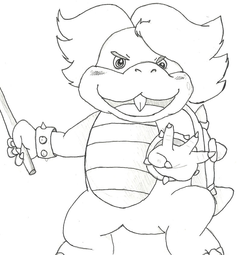 Ludwig Mario Coloring Pages 28 Images Learn How To Draw Larry Koopa From Koopalings Koopalings Commission Koopalings Smw By Jamesmantheregenold On Mario With A Coloring Pages Printable Request Ludwig Koopa