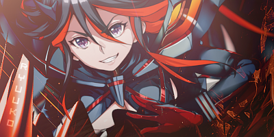 Ryuuko Matoi Signature Banner by Turbo-Chan