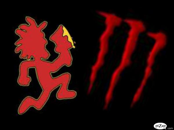 red hatchet man and monster by juggalocraze on deviantart