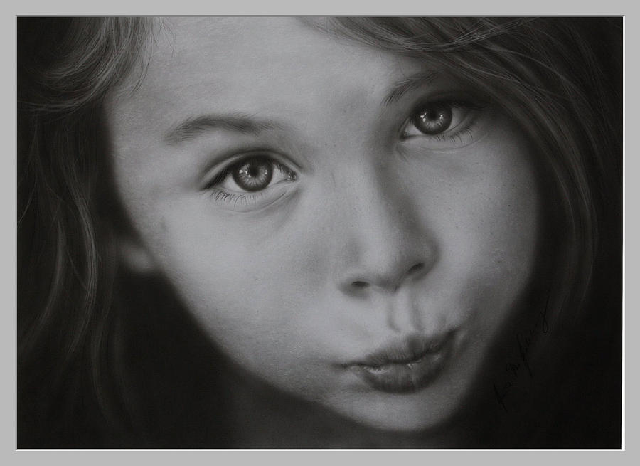portrait of a child by stahlberg