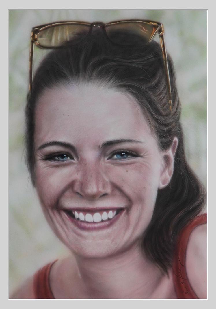 Portrait 'Insa' by stahlberg
