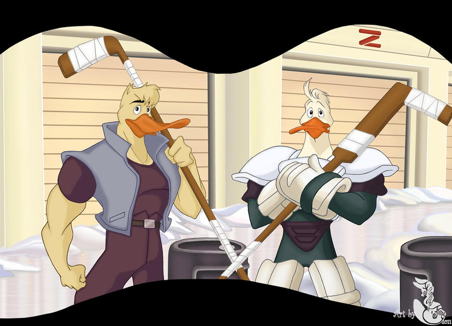 Canard And Wildwing By Fenneky On DeviantArt