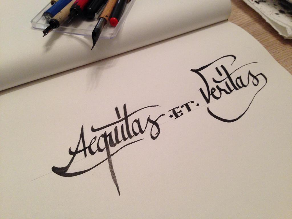 Aequitas et veritas sketch by oldboyohdaesu on deviantart for Veritas aequitas tattoos