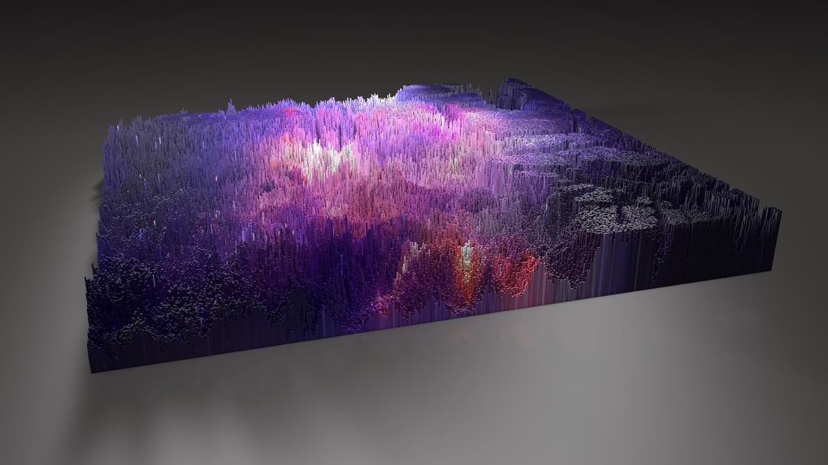 3D Topographic by OldboyOhDaeSu