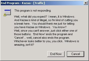 Windows Error 1